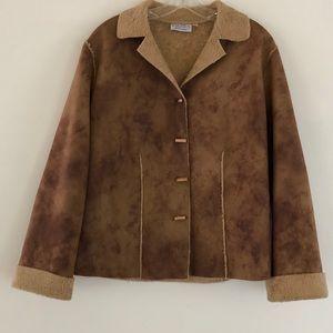 Fibers Brown Jacket M